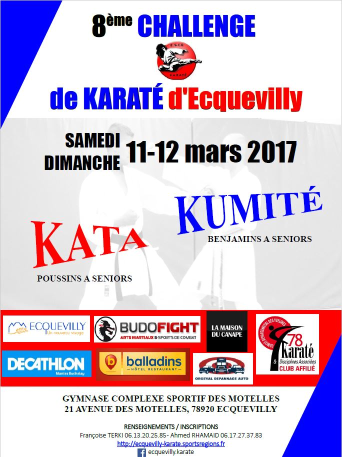 invitation karaté