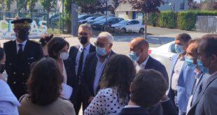 Visite de Madame Nathalie Elimas au CDFAS